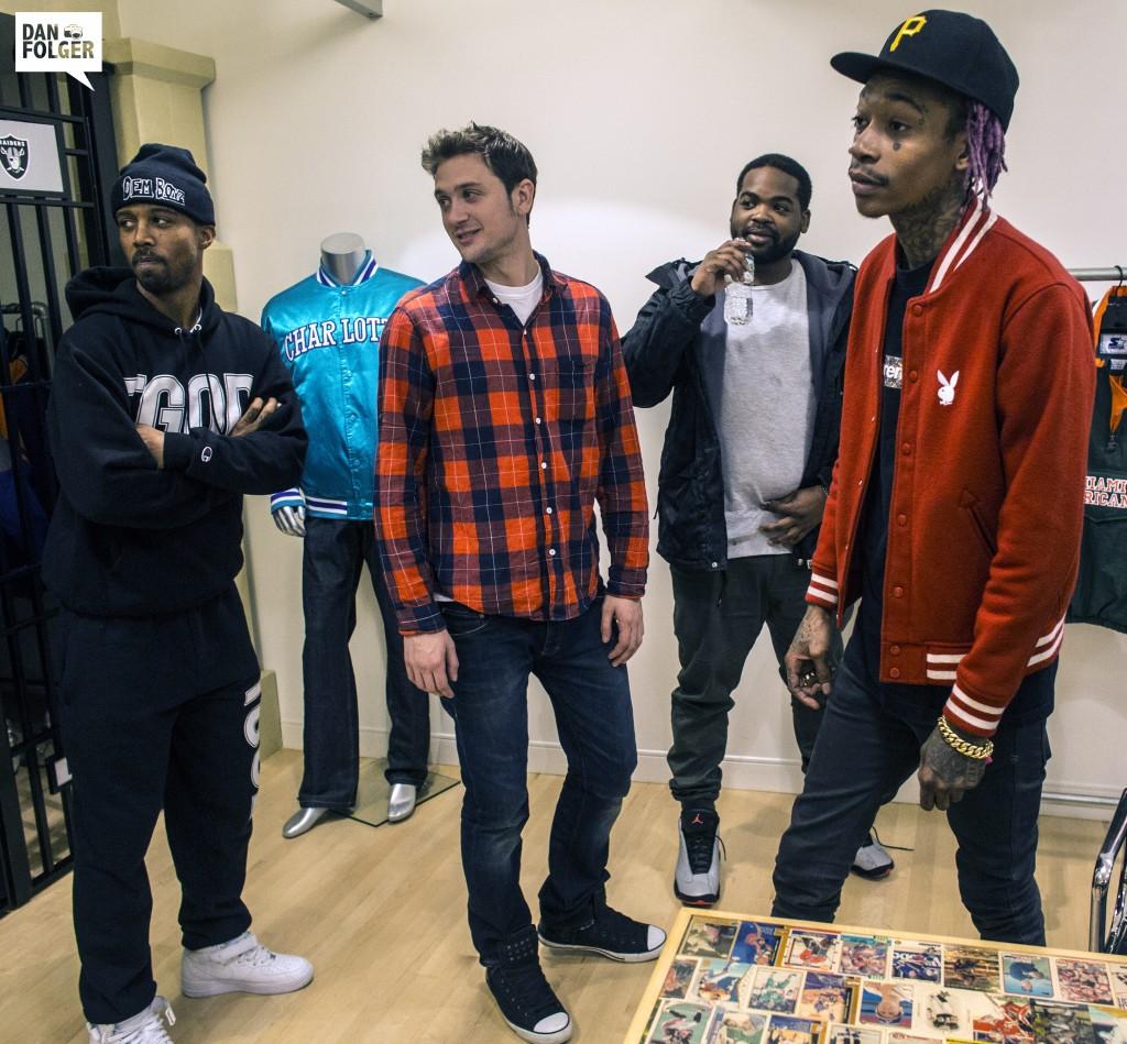 Will Dzombak, Wiz Khalifa, Nate Millieon 2014